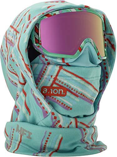 Burton Hood - Anon Women's Mfi Helmet Hood, Flutter Teal