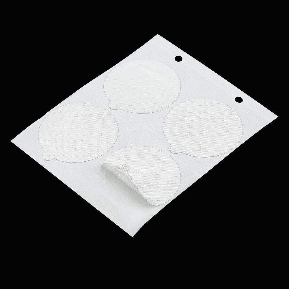 Sellos de aluminio desechables Pegatinas en la tapa para medicina de alimentos Maquillaje Caspules recargable Pods Filtros Tapas autoadhesivas resistentes al calor 100PCS