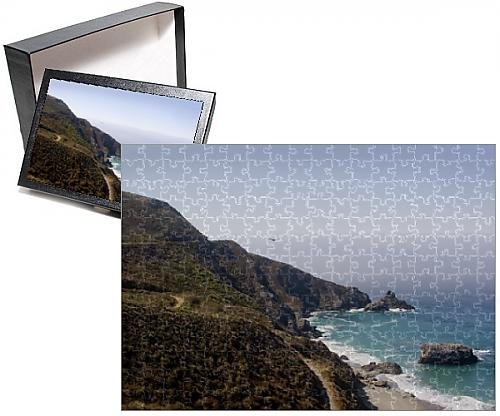Photo Jigsaw Puzzle of Monterey County, Big Sur Highway No. 1 south of Carmel, California, United