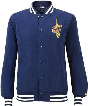 New Era NBA CLEVELAND CAVALIERS Team Apparel Bomber Jacket ...