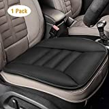 Car Seat Cushion Tsumbay Seat Cushion for Cars Front Seats Cover Pad Mat for Auto Car Supplies Office Chair Home Use Memory Foam Seat Cushion Comfort Seat Protector Black