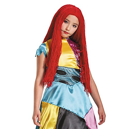 Sally Nightmare Before Christmas Child Wig ()