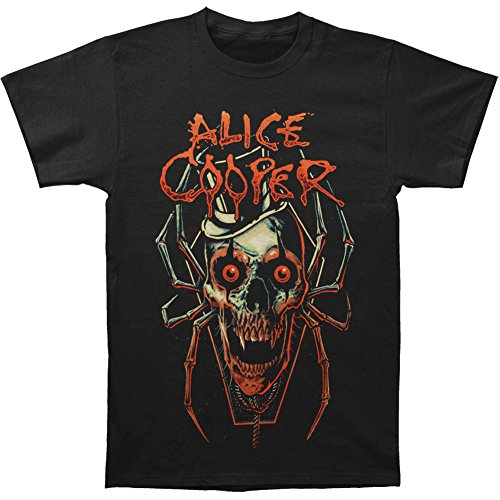 Alice Cooper Men's Skull Spider T-shirt Small Black