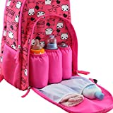 Large Capacity Diaper Bag Multi-Function Waterproof feeding bottle Backpack Nappy Bags for Baby Care Stylish and Durable