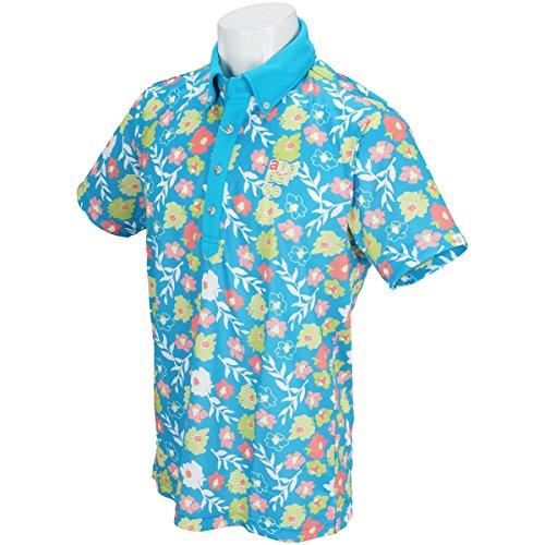 andperse(アンパスィ) 半袖ポロシャツ A9618MSY2 ブルー Lサイズ