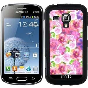 Funda para Samsung Galaxy S Duos S7562 - Patrón De Hibisco by UtArt
