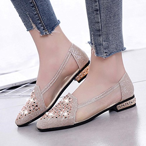 Donna Ballerine LB Mounter Gold 35 C6aawq