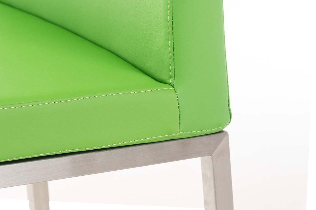 Clp sgabello alto bar ottawa in acciaio inossidabile e seduta in