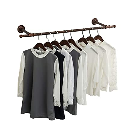 Amazon.com: QIANGDA Coat Rack Wall Mounted Iron Hat Hanger ...