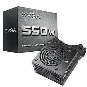 Amazon.com: EVGA 550 N1, 550W, 2 Year Warranty, Power Supply 100-N1 ...