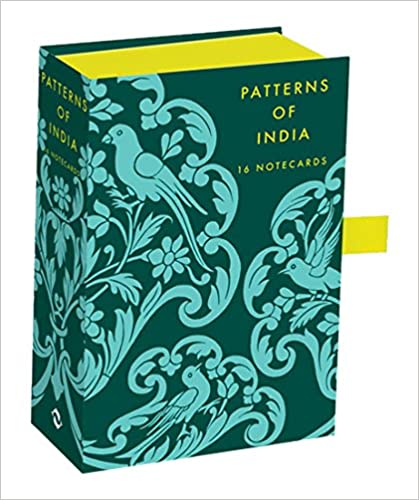 Patterns of India: Box of 16 Notecards (Thames & Hudson Gift)