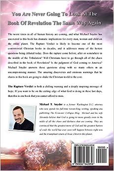 the rapture verdict michael snyder 9780692642658 amazon