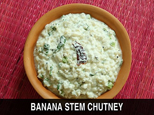 Arati Doota Perugu Pachadi - Banana Stem Chutney