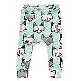 FTSUCQ Boys/Girls Baby Cartoon Pattern Printing Harem Leggings Pants PP Trousers,Blue,100CM offers