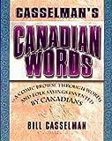 Canadian Words, Bill Casselman, 1552780341