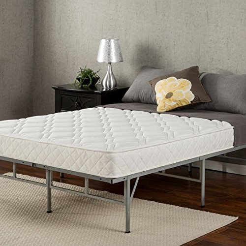 """Sleep Master 6"""" Coil Mattress and Easy to Assemble Smart Pla"""