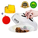 Microwave Plate Cover , Special Kitchen Set Of 3 - Magnetic Microwave Splatter Guard And 2 Bonuses - Better Sponge + Kitchen Towel With Free Shipping