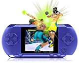 YANX Game Console Handheld Protable Video Game Console 16bit Retro Game Player Children Gift (Blue)