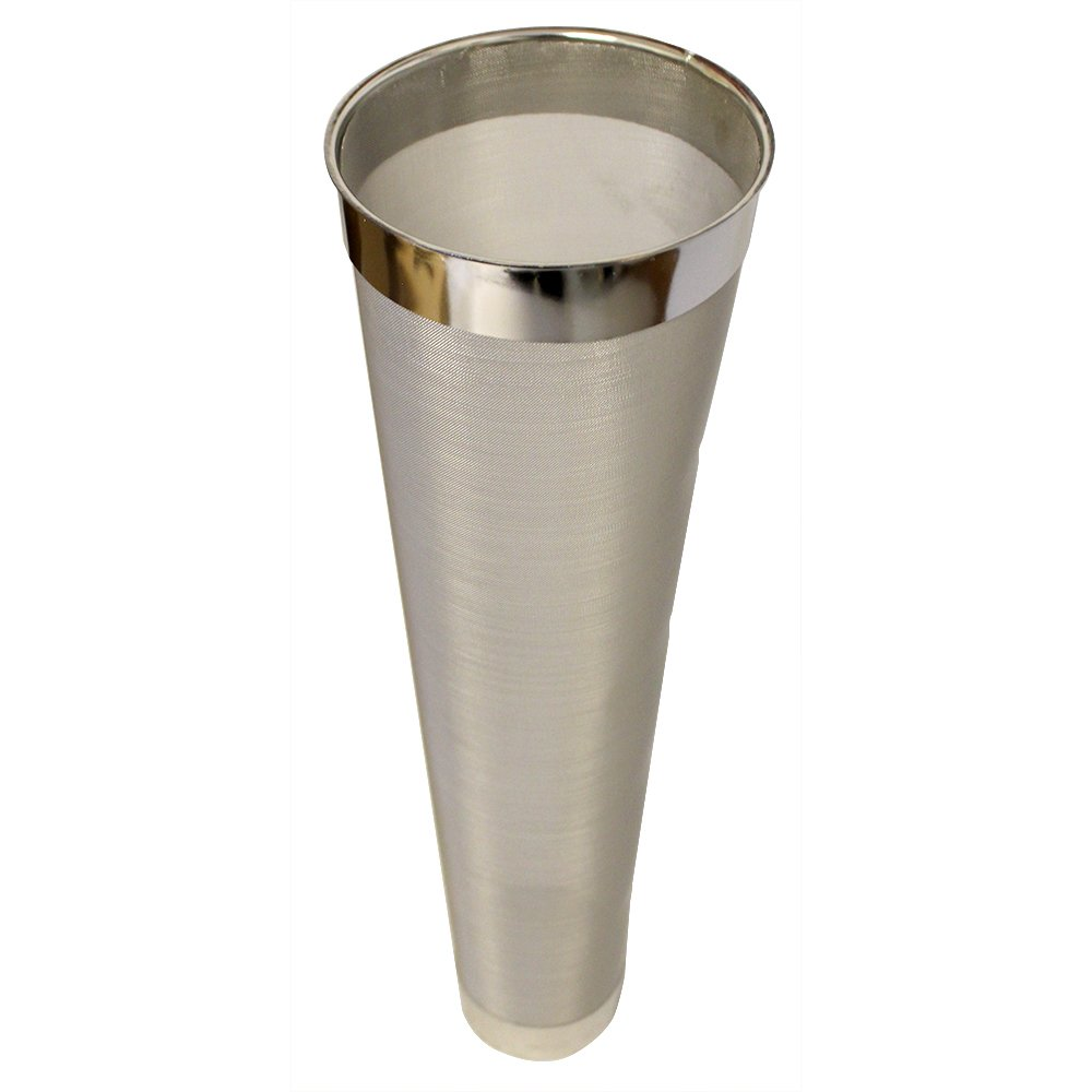 FastFerment Hop Filter Stainless Steel: Compatible with Our 7.9 and 14 Gallon Conical Fermenters. Beer Brewing, Wine Fermenting or Cider Making FasterFerment Accessories (Hop Filter 300 Micron)