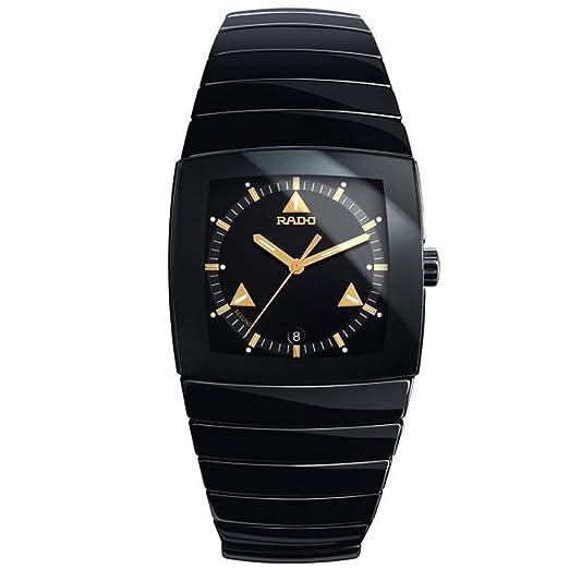 Rado Reloj de mujer cuarzo correa y caja de cerámica color negro R13726172: Rado: Amazon.es: Relojes