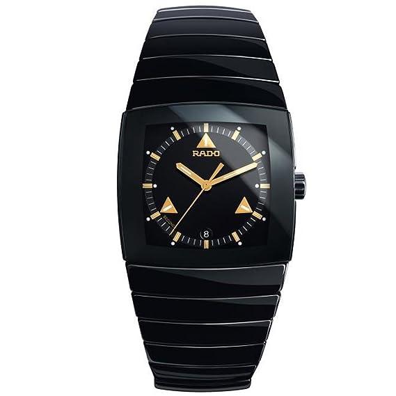 Rado Reloj de mujer cuarzo correa y caja de cerámica color negro R13726172