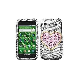 Bloutina Asmyna SAMT959HPCDM173NP Premium Dazzling Diamante Diamond Case for Samsung Galaxy S 4G T959 - 1 Pack - Retail...