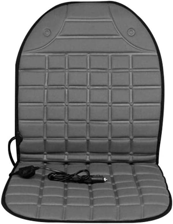 Maserfaliw Car Heated Seat12V Universal Heated Auto Car Front Seat Cover Winter Warm Heating Cushion Pad - Grey£¬Essential for Home Life.
