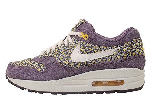 Nike Damen Air Max 1 Freiheit – Dark Plum/sail-sunlight Trainer Dark Plum