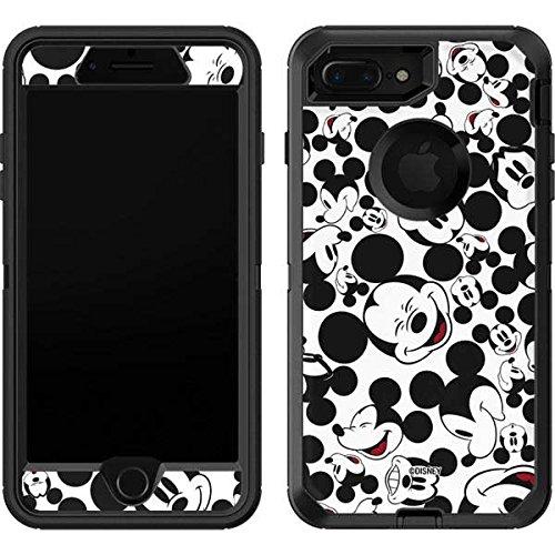 the best attitude 7a6e1 32c80 Skinit Mickey Mouse OtterBox Defender iPhone 7 Plus Skin - Mickey Mouse  Design - Ultra Thin, Lightweight Vinyl Decal Protection