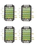 Mini Finger Soccer Foosball Desktop Table Game (Pack of 4)