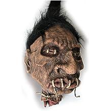 """Large Shrunken Voodo Head Witch Doctor Hanging Halloween Prop 10"""""""