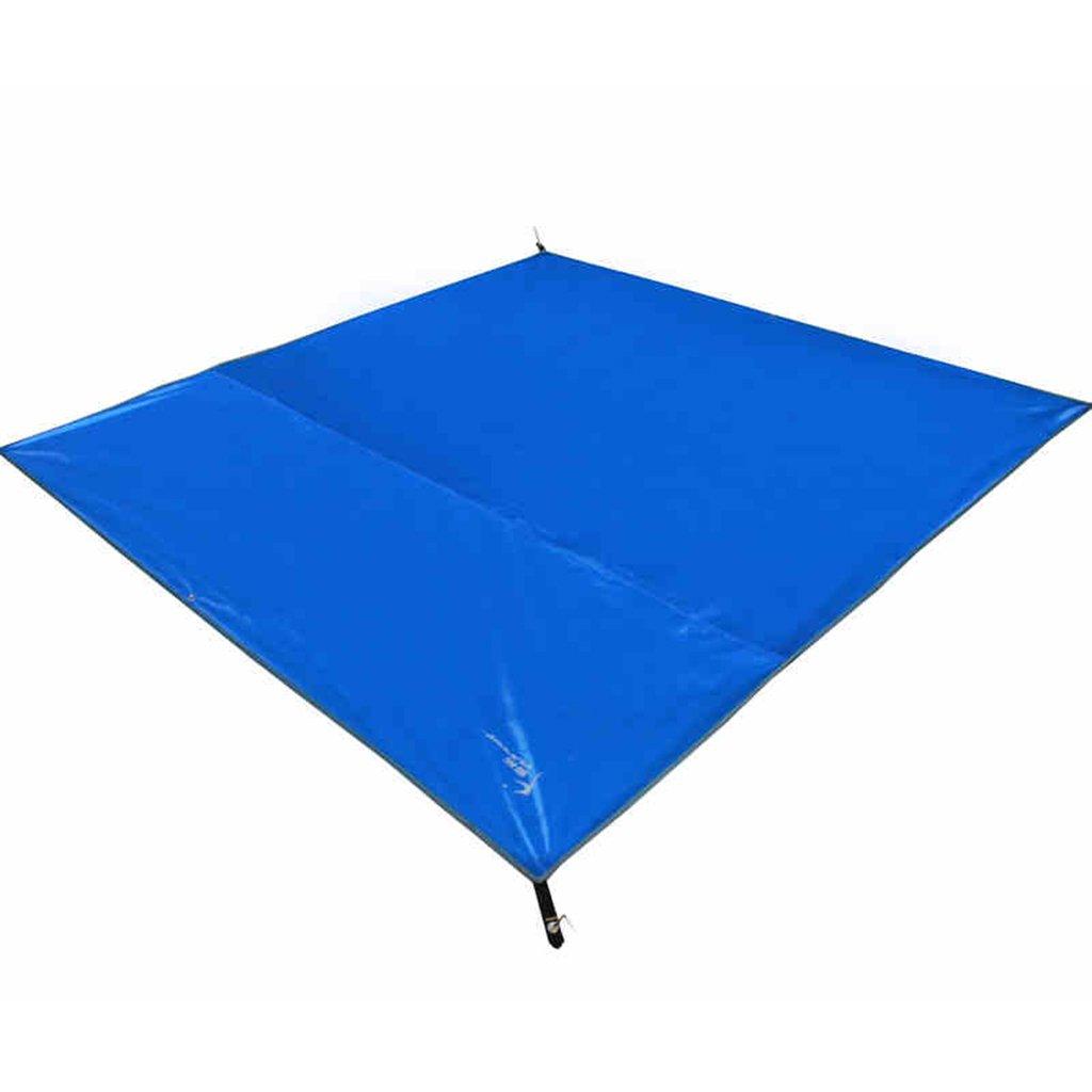 TYJ Picknick-Decken Outdoor Feuchtigkeitsbeständiges Pad Zelt Oxford Tuch Picknickmatten Wasserdichtes Blau