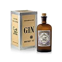 Monkey 47 Schwarzwald Dry Gin in Gift Box, 50 cl