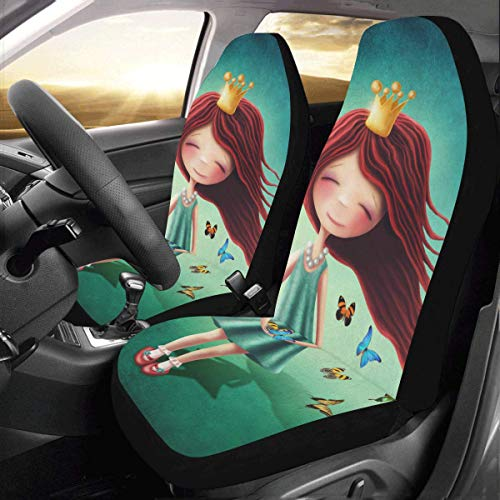 Blue Fairy Car Seat Covers