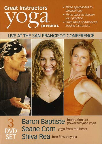 Amazon in: Buy YOGA JOURNAL:GREAT INSTRUCTORS 3 PACK DVD