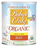 vitamin package - Baby's Only Soy Organic Toddler Formula, 12.7-Ounce Canister (Package May Vary)