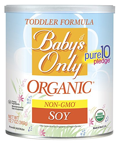 Baby's Only Soy Organic Toddler Formula, 12.7-Ounce Canister (Package May Vary)