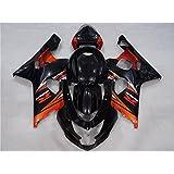 2004 2005 Injection Full Fairings Fit for SUZUKI GSXR 600 GSX-R 750 Glossy Orange Black Motorcycle Bodyframe