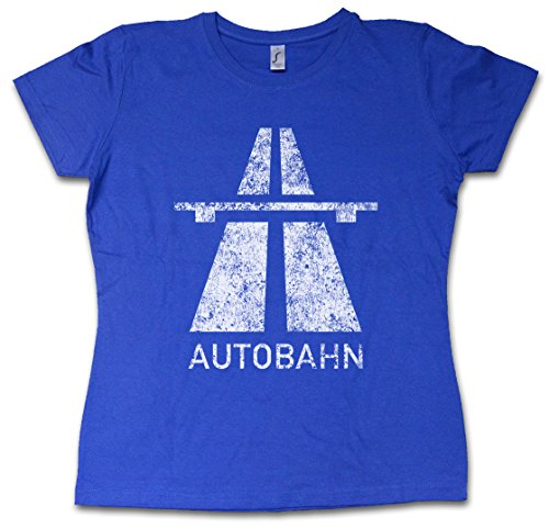 Urban Backwoods Autobahn Girlie Woman T-Shirt