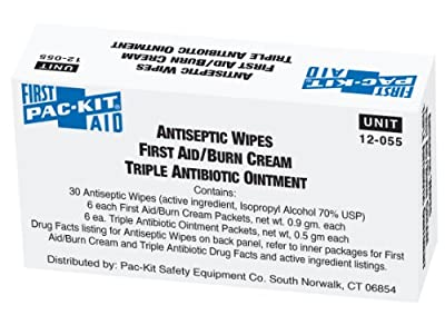 Pac-Kit 12-055 42 Piece Antiseptic Unit by Pac-Kit