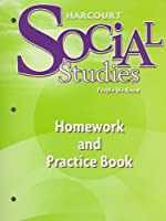 Harcourt Social Studies: Homework and Practice Book Student Edition Grade 2
