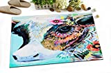 LB Colorful Animal Kids Stylish Bath Rugs 3D Digital Printing 16x24 Inch Customized Personality Colorful India Temple Cow Outdoor Indoor Front Door Mat Non-slip Bath Mat