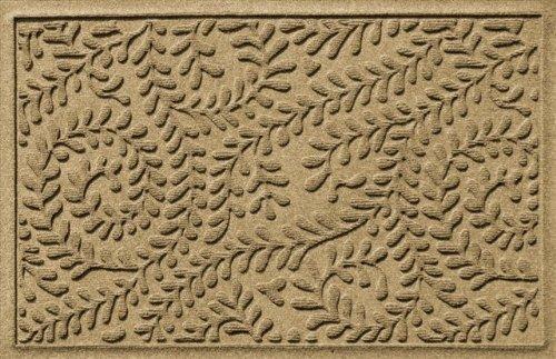 Bungalow Flooring Aqua Shield Boxwood Mat Size: 2' x 3', Color: Camel
