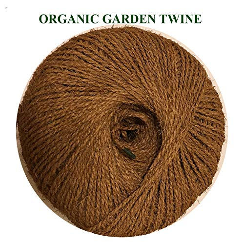 Organic Garden Twine Made of 100% Natural Coconut Fiber,Weight per Spool is 7 Lbs,and Length is + 1100 Feet, from Our Own Production. by Coconut Fiber Works