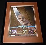 2003 Soul Calibur II Playstation Framed 11x14 ORIGINAL Advertisement