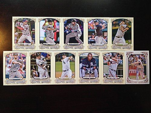 Chicago White Sox 2014 Topps Gypsy Queen MLB Baseball Complete Mint 11 Basic Card Team Set with Paul Konerko Adam Dunn Chris Sale Plus - Baseball Card Sales