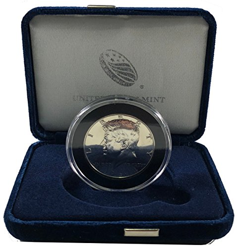 1964 P Kennedy Silver Half Dollar, GEM Proof 50C in New Air-Tite & Deluxe Mint Box -