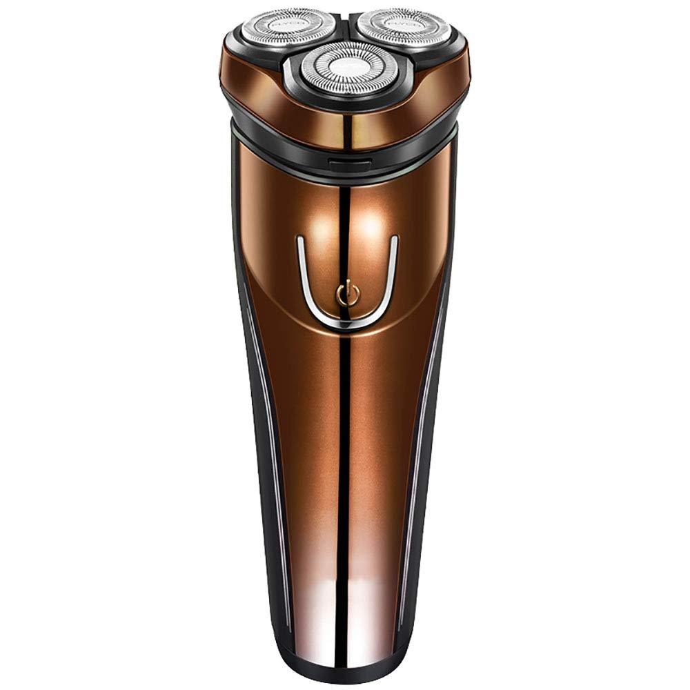 シェーバー電気スマート充電ひげナイフメンズ(ゴールド)   B07NYXZWZC
