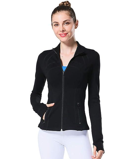 Amazon.com: UDIY - Chaqueta deportiva para mujer con ...
