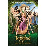(11x17) Tangled Group Movie Poster